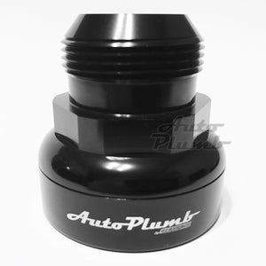 "AutoPlumb Adaptor - Black 20AN 1.500"" - 1.550"""