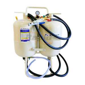 SAND & SODA BLASTING KIT 75 LITRE TWIN TANK