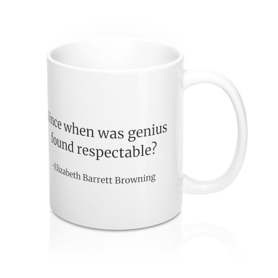 Elizabeth Barrett Browning Mug - UK