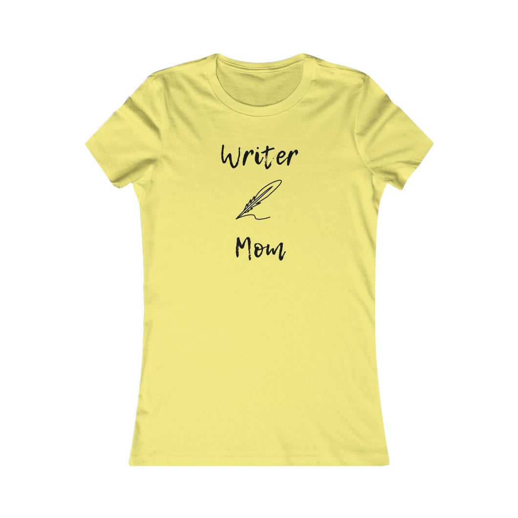 Writer Mom Quill Tee - USA