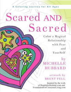 Scared AND Sacred Coloring Journey Book