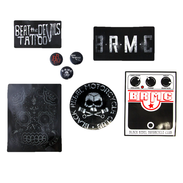 B.R.M.C.® BUTTON AND STICKER SET