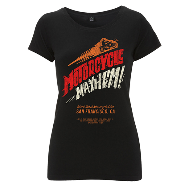 MOTORCYCLE MAYHEM TEE