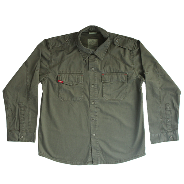 BRMC GREEN MILITARY JACKET