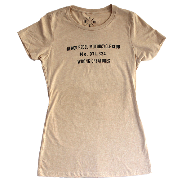 WRONG CREATURES WOMENS SAND TEE