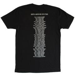 WRONG CREATURES MAY 2018 BLACK TOUR TEE