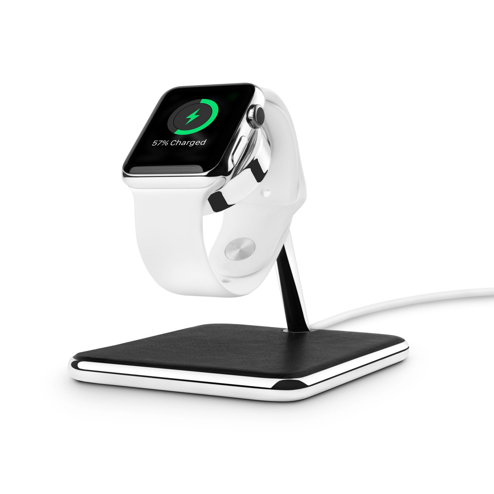 Meet Forté. The first full-featured Apple Watch stand worthy of the Apple Store.