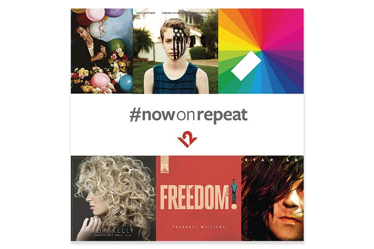The songs you love, #nowonrepeat