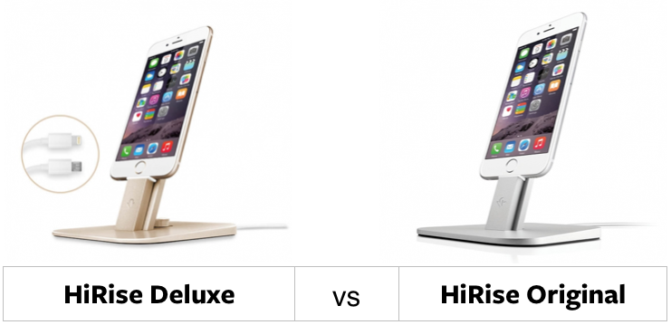 HiRise Deluxe vs. HiRise Original: a Feature Comparison Chart