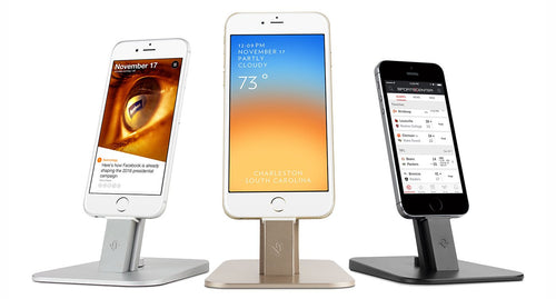 Meet the new HiRise Deluxe Stand for iPhone and iPad