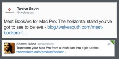 BookArc for Mac Pro – according to Twitter