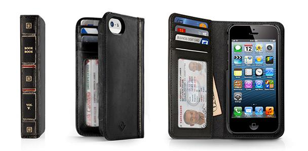 Introducing the all-new BookBook for iPhone 5 from Twelve South