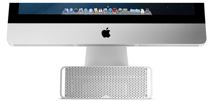 "TechCrunch: HiRise ""looks like a Mac Pro mini, is actually an iMac storage locker"""