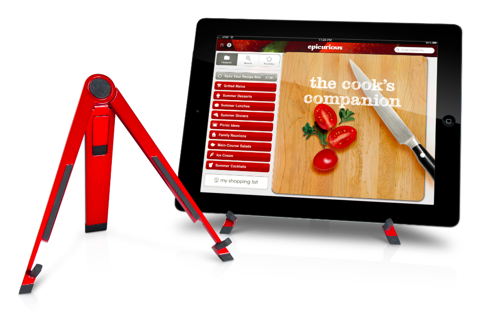 "The Wall Street Journal: Compass ""the minimalist perch"" when your tablet is your sous chef"