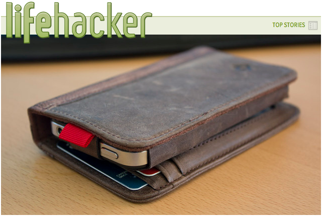 Stuff We Like: Lifehacker's Review of BookBook for iPhone