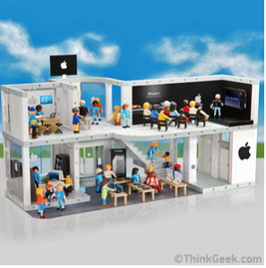 Introducing…The Playmobil Apple Store Playset
