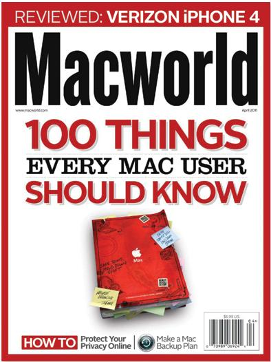 "BookArc for Air makes its way onto Macworld's ""hot stuff"" list for April"
