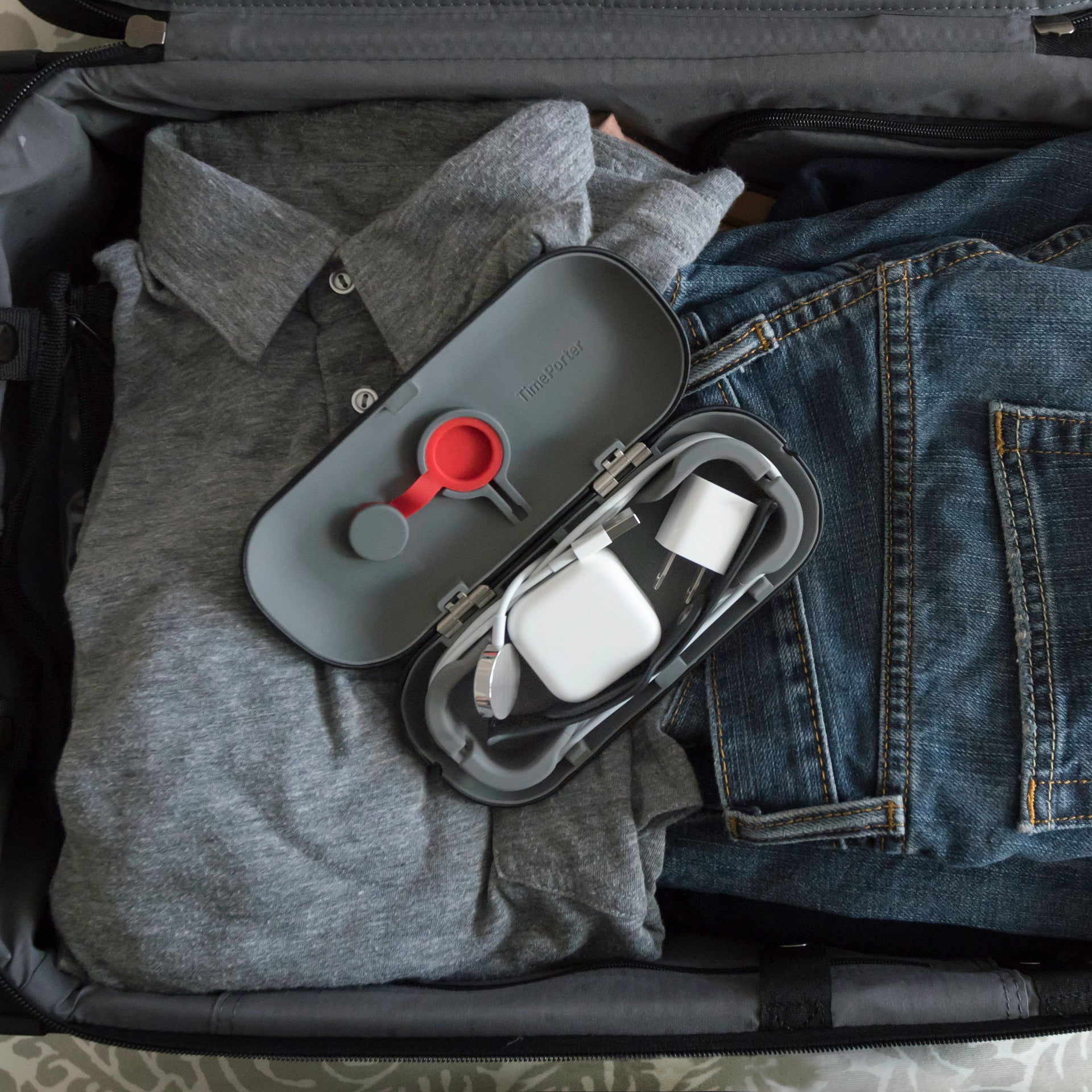 TimePorter Travel Case for Apple Watch by Twelve South