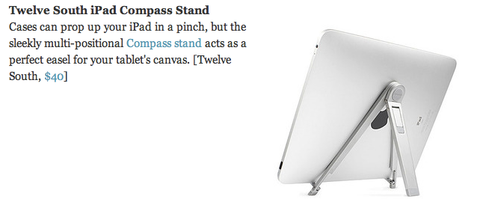 Gizmodo Twelve South Compass for iPad Review
