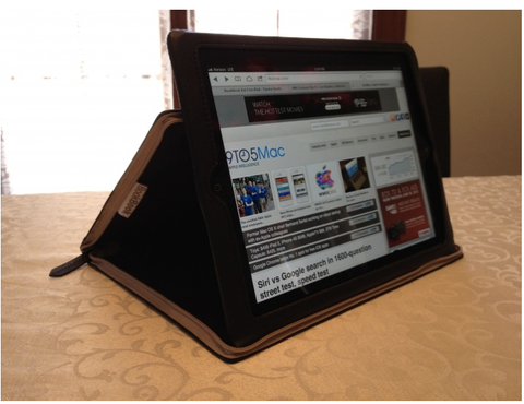 9 to 5 Mac Twelve South BookBook for iPad Review