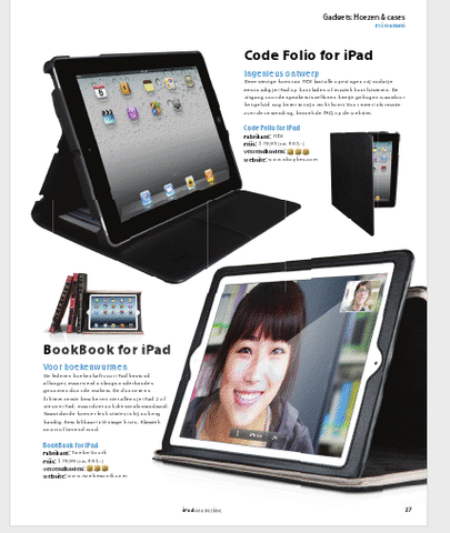 iPad Magazine Twelve South BookBook for iPad Review