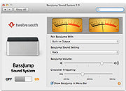 Twelve South BassJump for MacBook Software