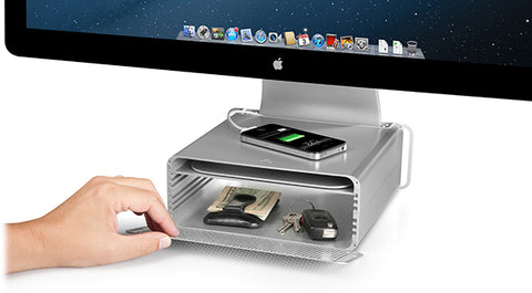 Twelve South HiRise for iMac storage stand