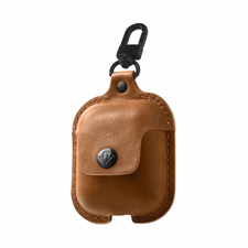 AirSnap, Full-grain leather case for AirPods - Twelve South