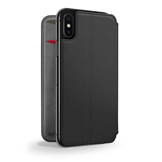 SurfacePad for iPhone, Slim, protective Napa leather cover - Twelve South