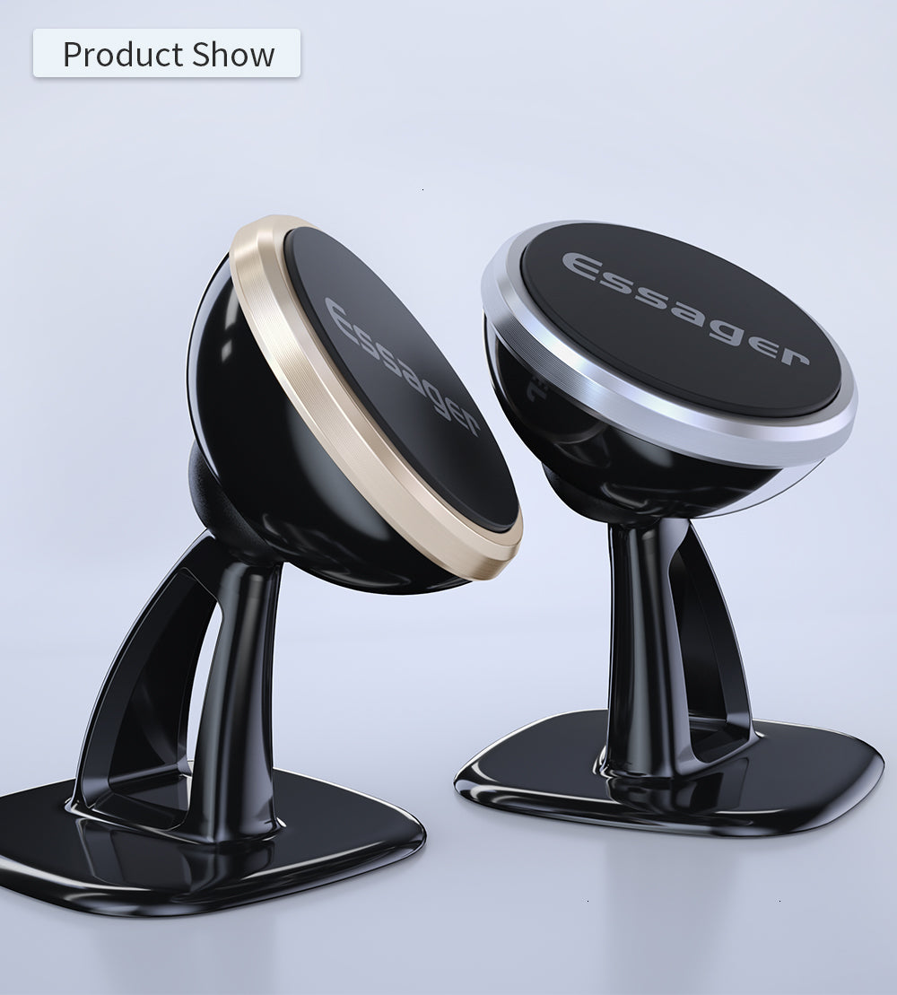 【Bisa COD!!!】Essager Magnetic Car Phone Holder - Meet lucky