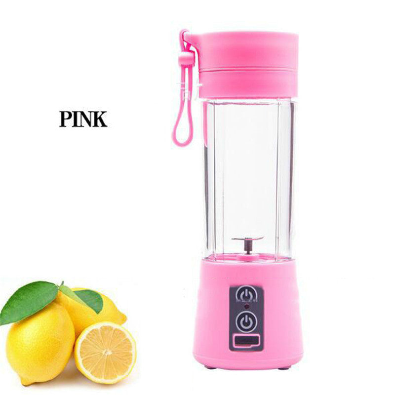 【Bisa COD】 Juicer Cup Rechargeable Battery  380ml