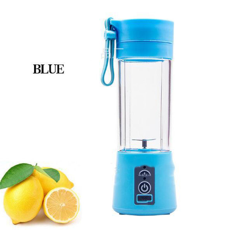 【Bisa COD】 Juicer Cup Rechargeable Battery  380ml - Meet lucky