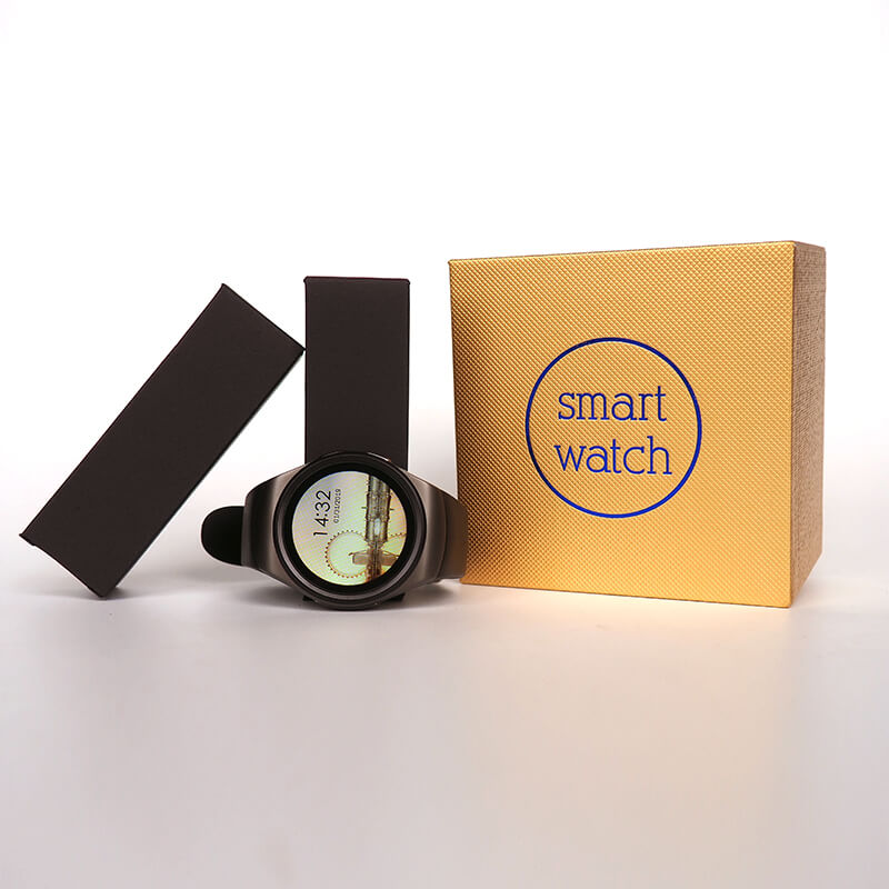 【Bisa COD】Jam Tangan Pintar KW18 Men Support SIM TF Card - Meet lucky