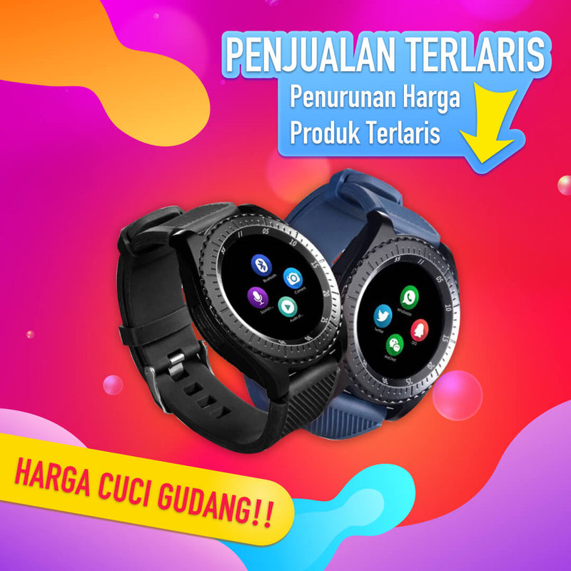【Terlaris!!!】Men's Smart Watch (Android!!!!!) - Meet lucky