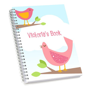 Pink Bird Sketch Book