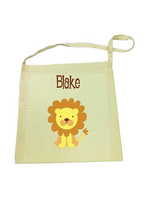 Lion Library Bag
