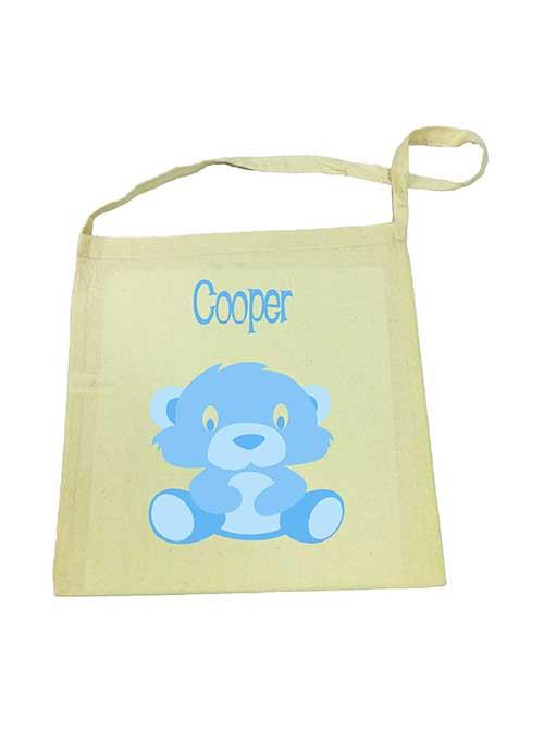 Blue Bear Library Bag