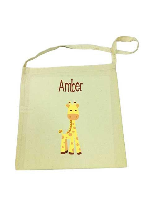 Giraffe Library Bag