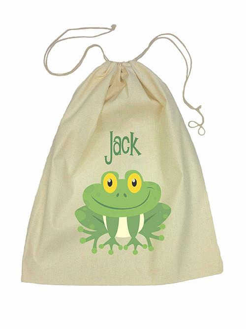 Green Frog Bag Drawstring