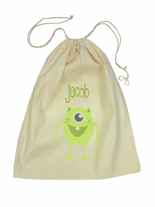 Green Alien Bag Drawstring