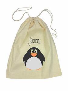 Penguin Bag Drawstring