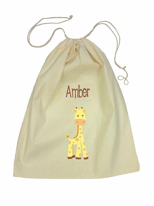 Giraffe Bag Drawstring