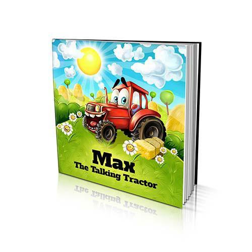 The Talking Tractor Large Soft Cover Story Book