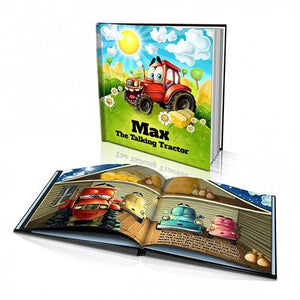 The Talking Tractor Hard Cover Story Book
