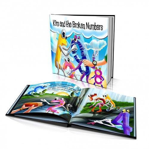 Numbers Large Hard Cover Story Book