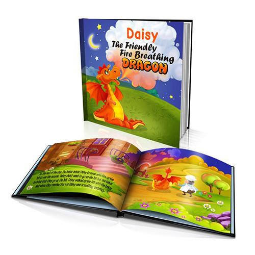 The Friendly Dragon Hard Cover Story Book