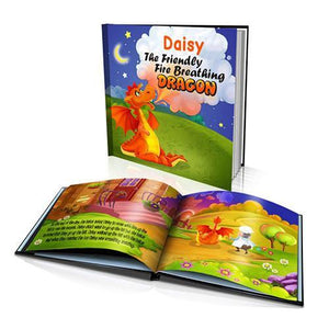 The Friendly Dragon Large Hard Cover Story Book