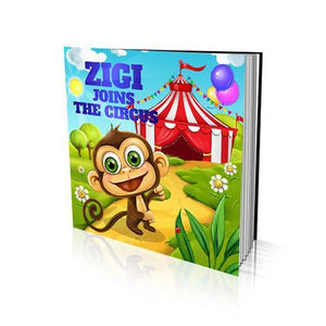 Joins the Circus Large Soft Cover Story Book