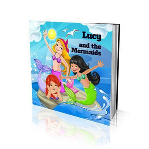 The Mermaids Soft Cover Colouring Book