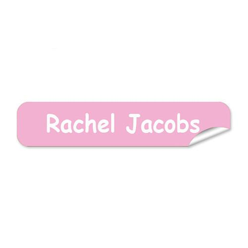 Light Pink Mini Name Labels